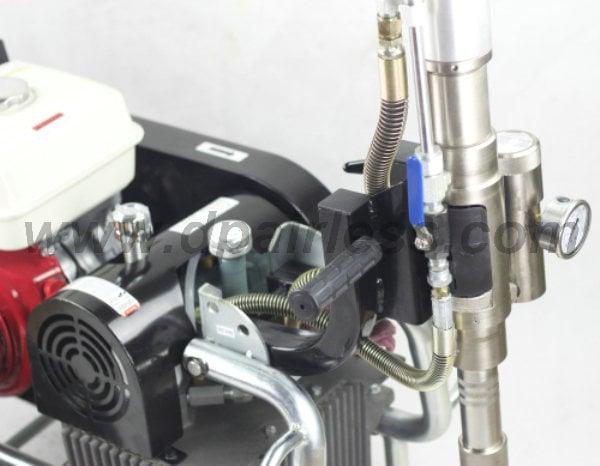 valves of DP-9600 Hydraulic Airless Sprayer