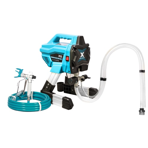 DP-X6 Electric Airless Paint Sprayer with Gun & Hose