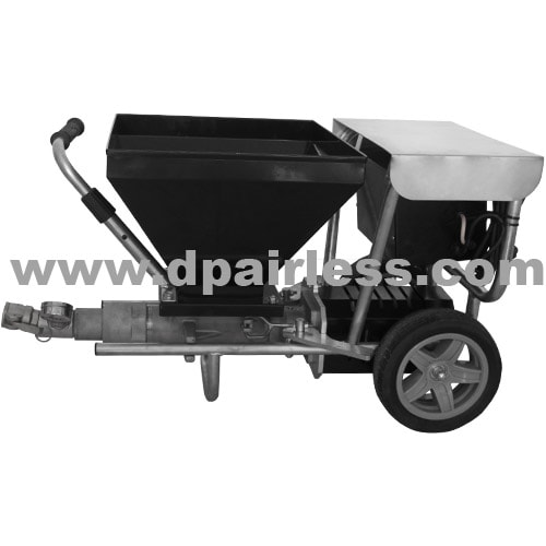 Cement motar sprayer with easy-carry type