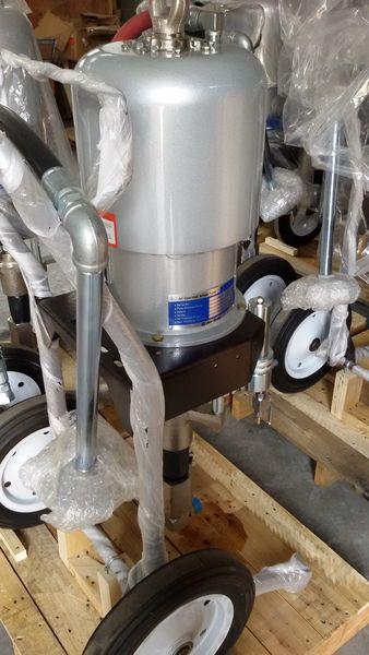68: 1 pneumatische aandrijving airless pomp sproeier