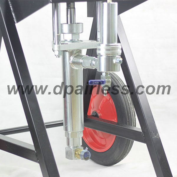 big stainless steel fluid pumps airless sprayers