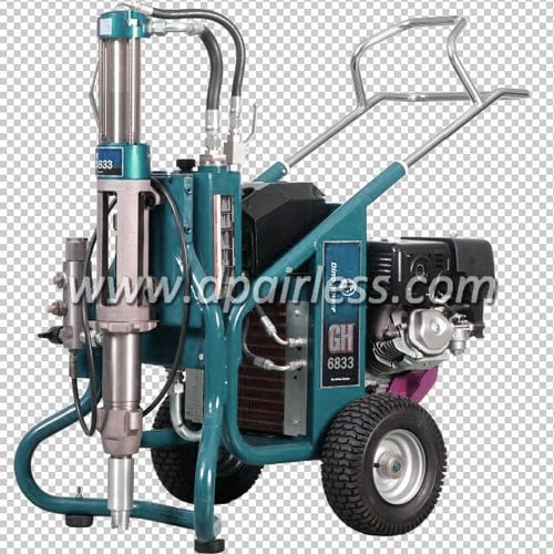 DP-GH6833 Big Rig Gas powered Hydraulic Airless Sprayer
