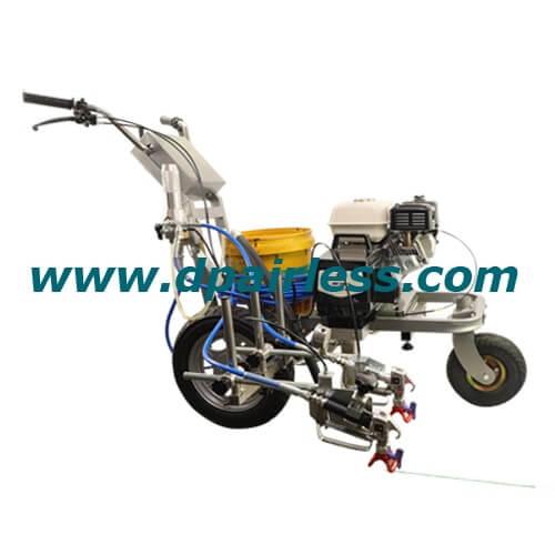 DP-6335L entreprenør Airless Line Striper med laservejledning