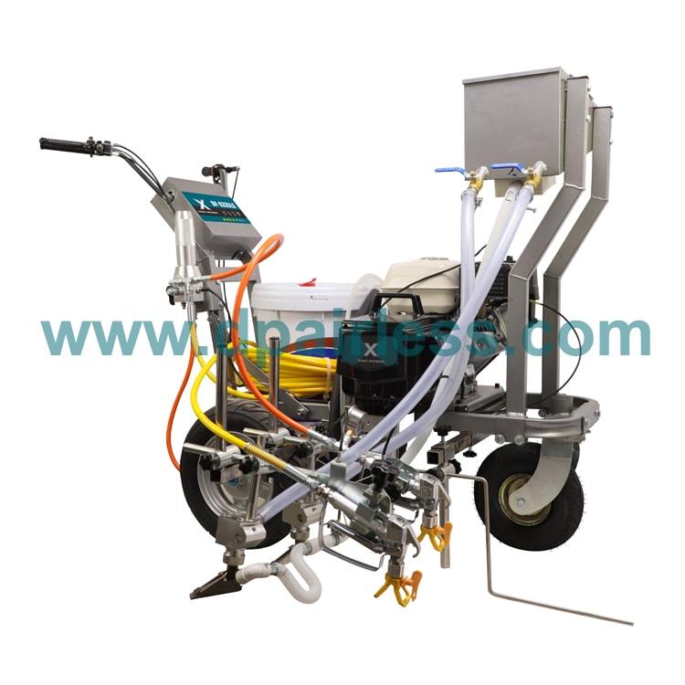 DP-6335L-GB Roadline Marking Machine with Glass Beads Device