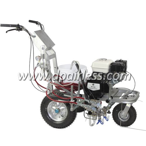DP-6335L Roadline Marking Machine with Piston Pump,Airless line striper