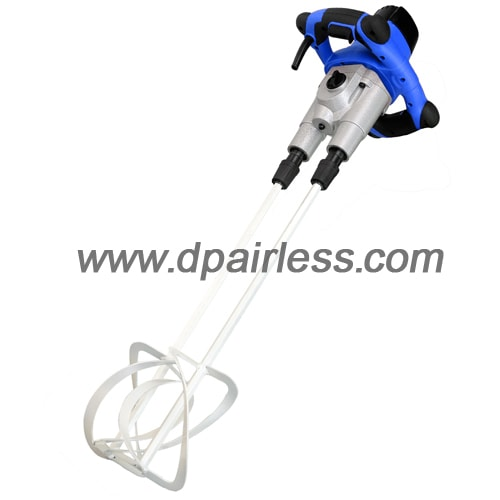 DP-M218 Electric Cement Mixer With 2 Paddles