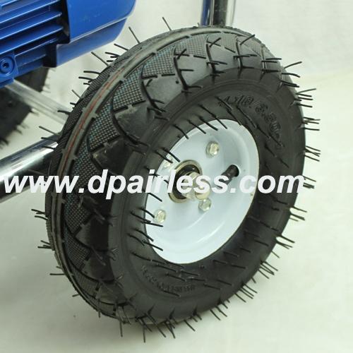 Wheels of DP-6860E Electric Airless Diaphragm Pump