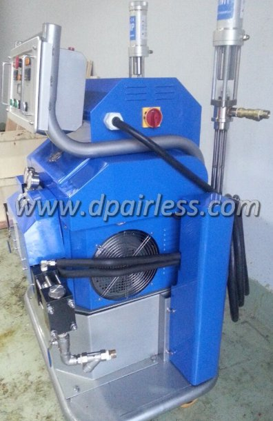 DP-HXP30 Hydraulisk drevet polyureareaktor, 04