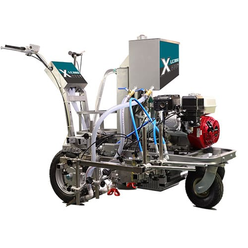 DP-LC860 Hydraulic Powered Piston pump Linemarker, line painting machine