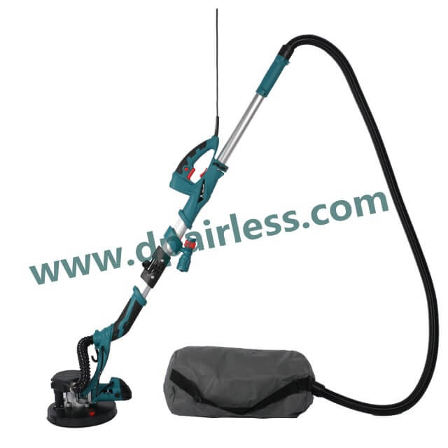 DP-3000 Telescopic Drywall Sander with Vacuum Self-suction System 800W