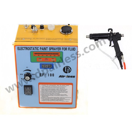 EF100 electrocstatic sprayer for fluid painting