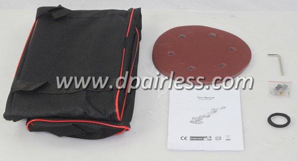 Standard Accessories for DP-3000 Long Handle Dustless Drywall Sander