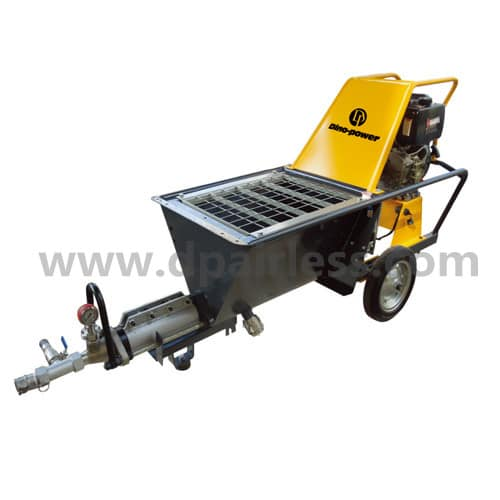DP-N7 Diesel engine powered Cement sprayer machine, Air concrete sprayer