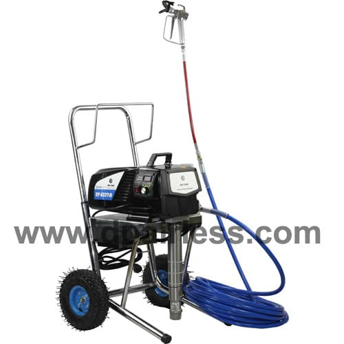 What is the advantages of the DC motor on airless paint sprayer?