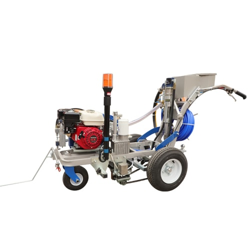 DP-TP3900L One/Two-components Hydraulic Driven Roadline Marking Machine with glass bead dispenser
