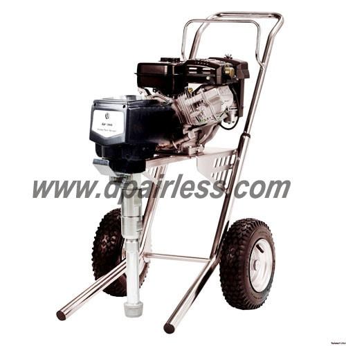 4.5HP bensiini airless sumutin GPX85 tyyppi