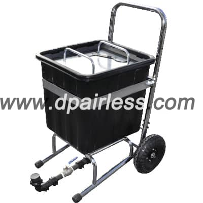 DP-HC75 Hopper Cup for Putty Plaster Spraying 75L