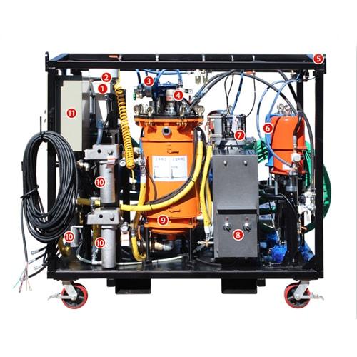 DP-PFP20 Plural-Components sprayer