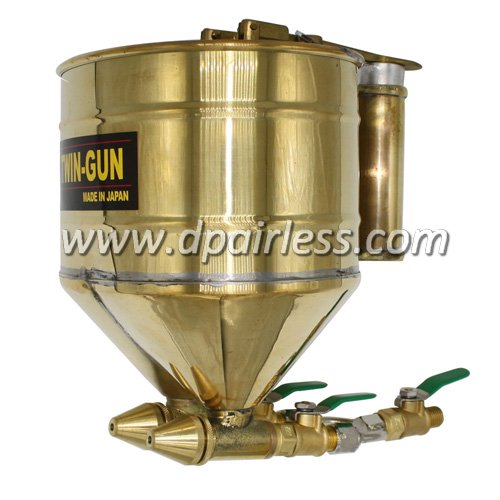 DP-WGW300 Air-Driven TWIN-GUN for Texture/Mortar/Plaster/Cement