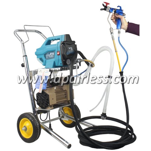 Fine finish pro air mix airless electric sprayer pump dp for Air or airless paint sprayer