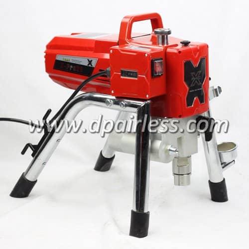 X-23 (M) X-25 (M) Électrique professionnel Airless Pulvérisateur de peinture avec pompe à piston 2.4 L / min