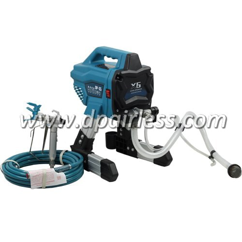 WHAT KIND OF PAINT MATERIAL I CAN USE FOR MY DP-X3 DP-X6 AIRLESS PAINT SPRAYER?