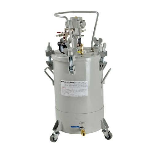 DP-20AX 20L Air mix paint tank with bottom outlet