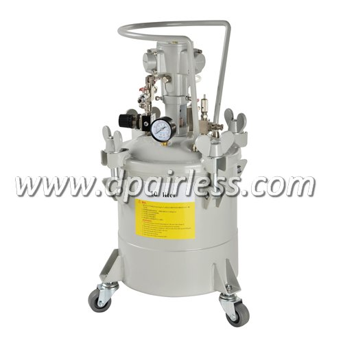 P-6611A High Quality Paint Tank with Air Agitator 10L
