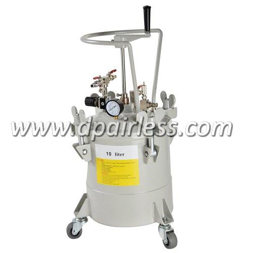 DP-6611A Pressure Paint Tank with Manual Agitator 10L