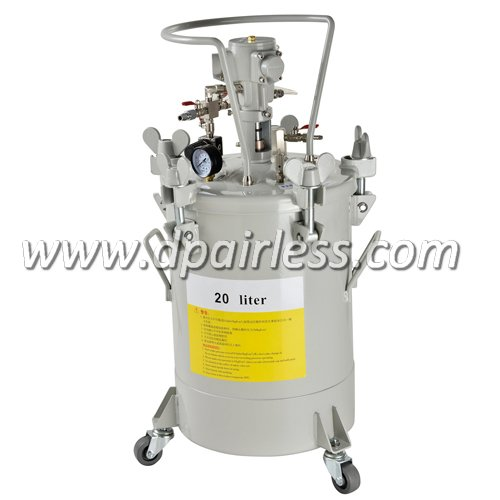 DP-6612A High Quality Paint Tank with Air Agitator 20L