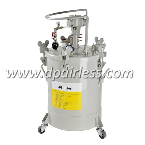 industrial paint tank with Air Agitator 40L