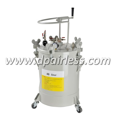 DP-6614H High Quality Paint Pressure Tank with Manual Agitator 40L
