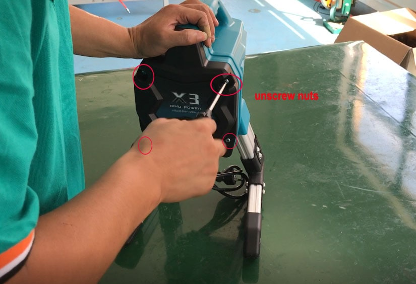 HOW TO DISASSEMBLE MY X3 AIRLESS SPRAYER
