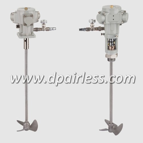 DP-22-61 DP-22-62 Fluid Agitator Pneumatic Mixer