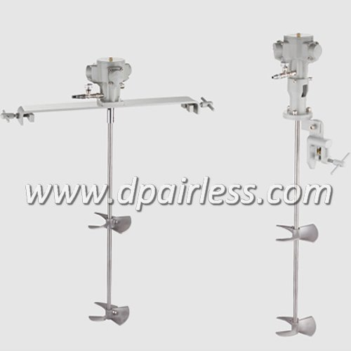 DP-22-71 DP-22-72 Clamped Type Pneumatic Mixer