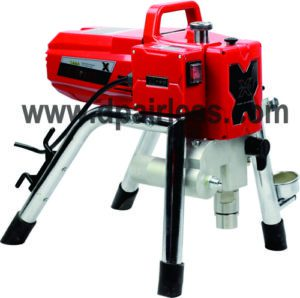 X25M AIRLESS PAINT SPRAYER WITH MECHANICAL PRESSURE REGULATOR
