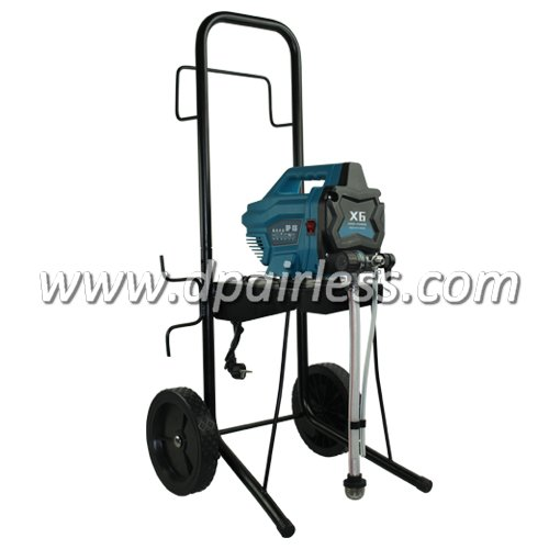 X-6H Electric Airless Paint Sprayer with High Cart