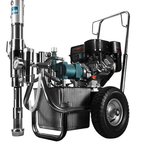 DP-9800G Gasoline Engine Hydraulic Driven Airless Paint Sprayer