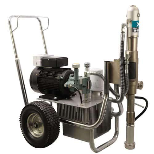 DP-9800E Direct-driven Hydraulic Airless Sprayer w/t Belt