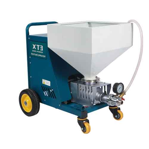 Texture Sprayer With Screw Pump, For Putty Plaster Spraying