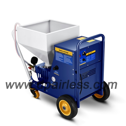 Portable Type Texture Sprayer With Screw Pump, For Putty Plaster Spraying