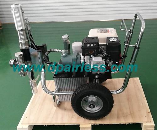 Moteur à essence DP-9800G à entraînement hydraulique Airless Pulvérisateur de peinture