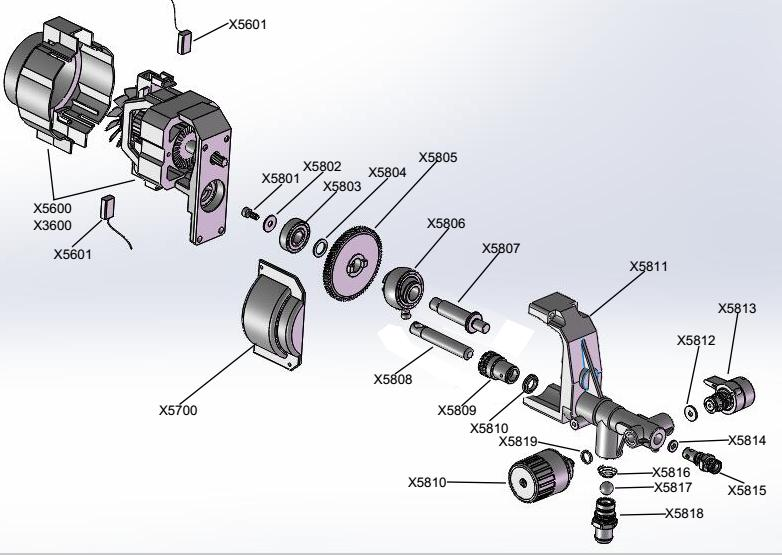 airless sprayer x3 spare parts