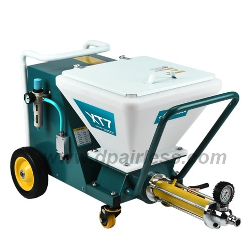 DP-T7 Drywall Texture Paint Sprayer With Extended Screw Pump