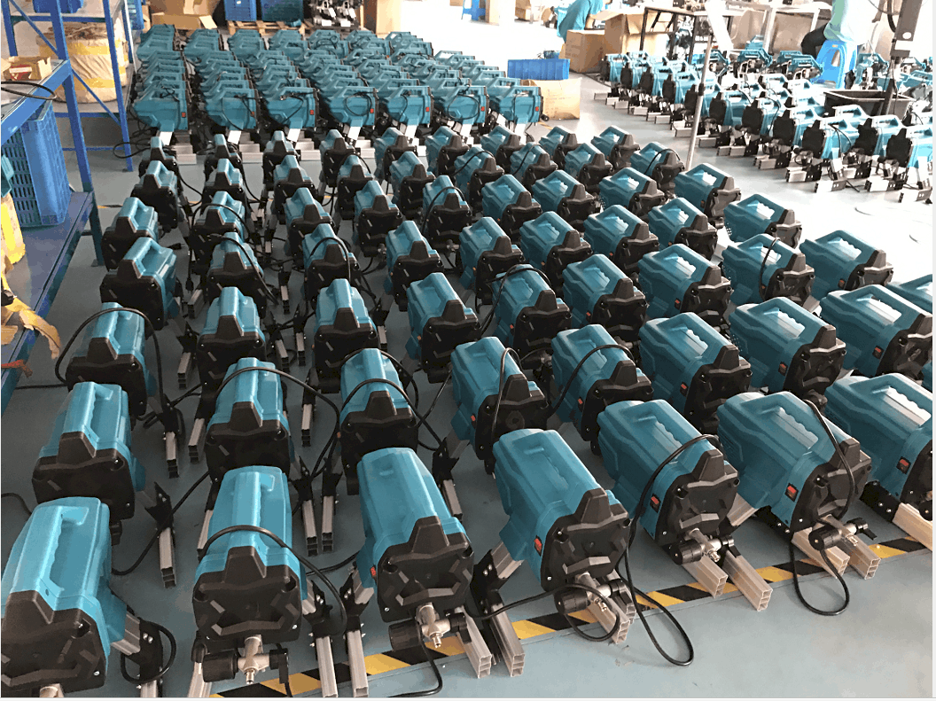 la production d' airless pulvérisateur