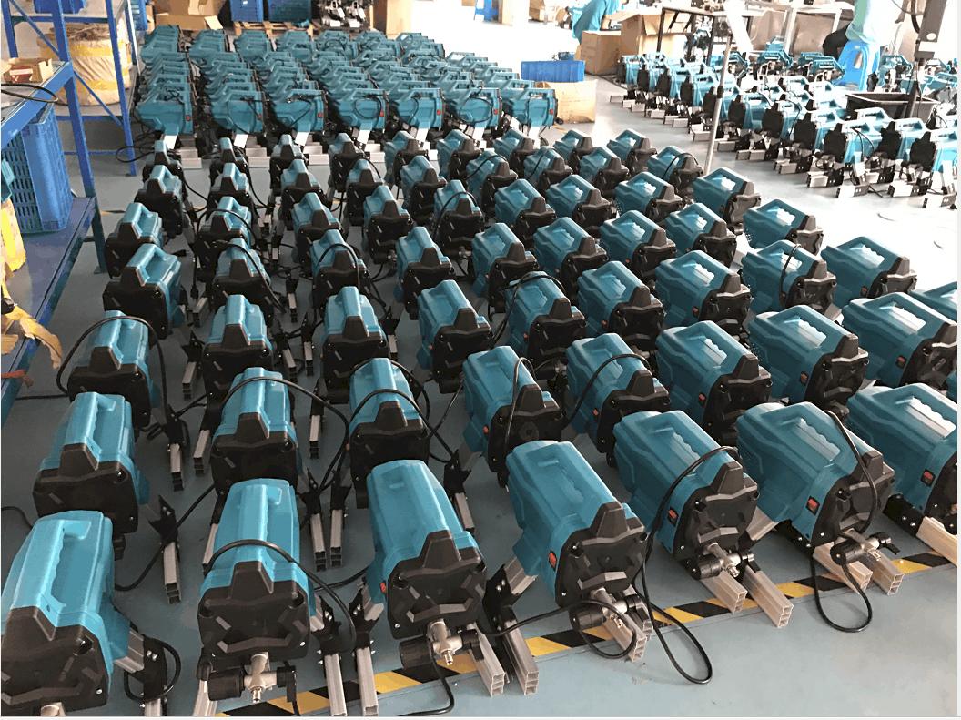 productie airless spuittoestellen