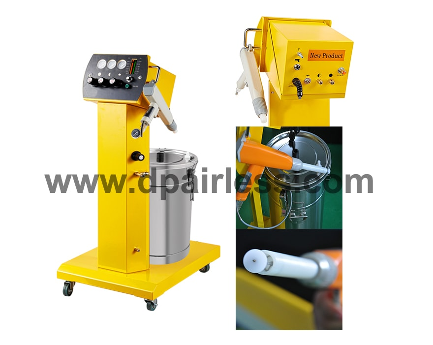 DP-EP06 Electrostatic Powder Coating System and Spray Gun