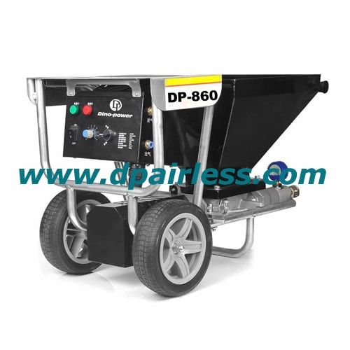 DP-860 Wall plastering machine, gypsum stucco sprayer