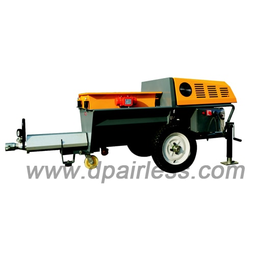 DP-N80R Diesel Engine driving Cement Mortar Grouting Machine