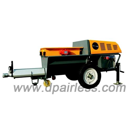 DP-N80R Diesel Engine driving Cement Mortar Grouting Machine